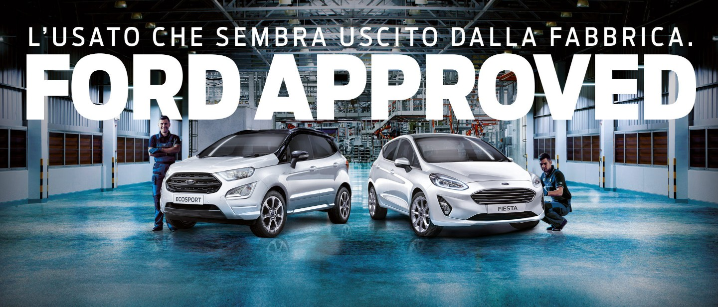 Usato Certificato Ford Approved Ford It
