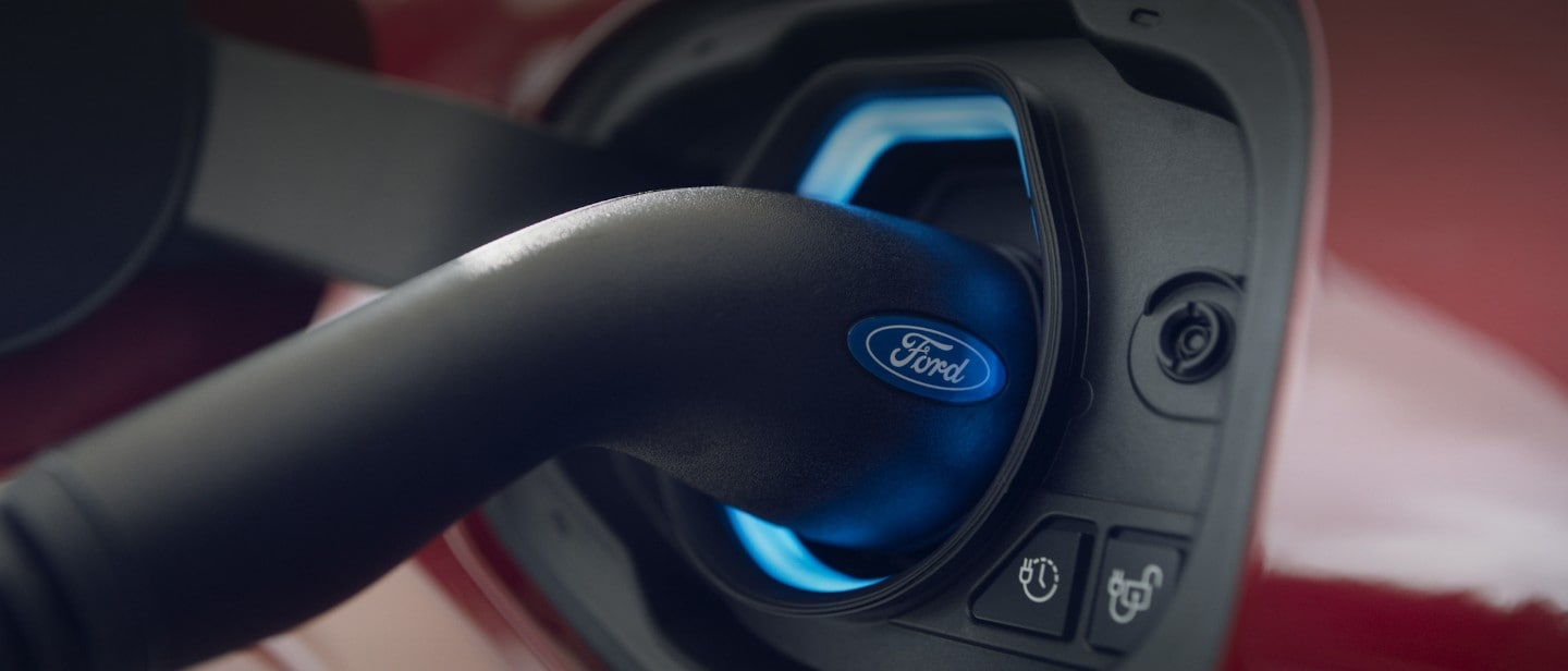 Ford Kuga plug-in port
