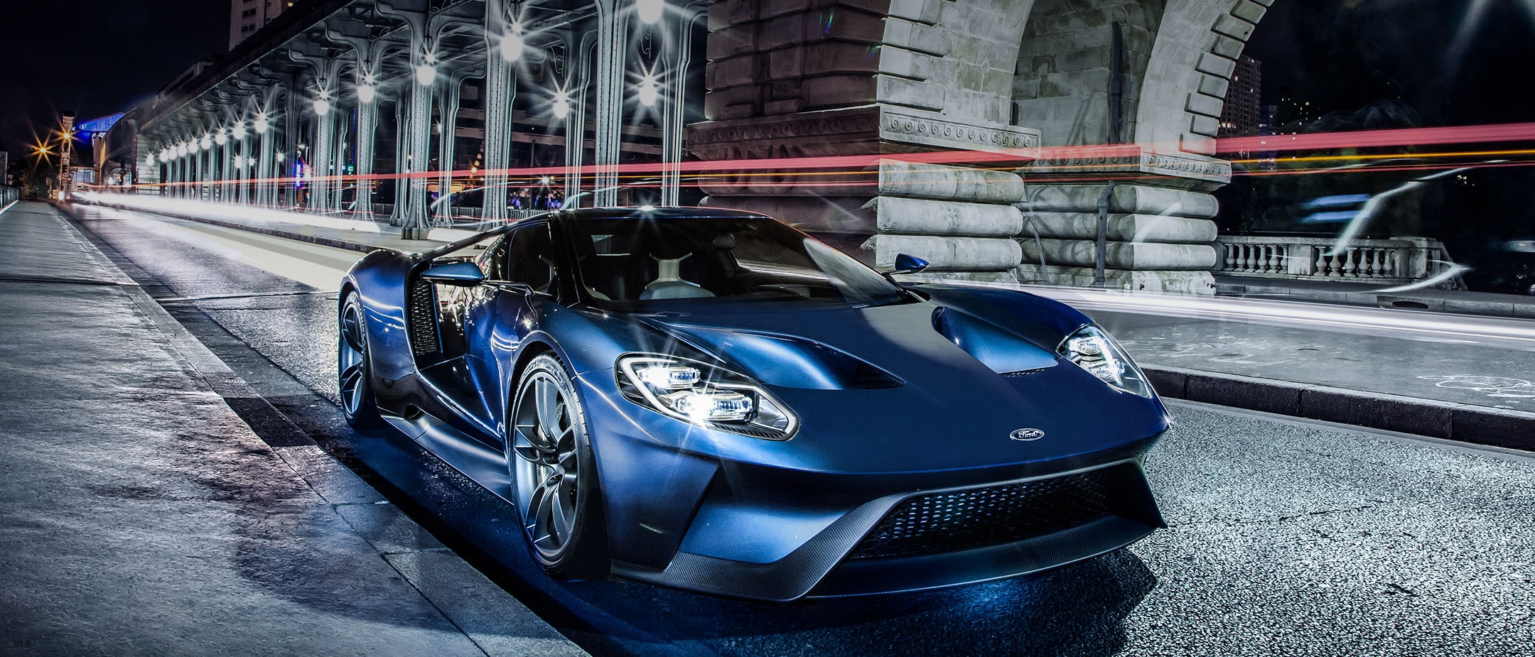 Ford GT city street